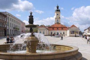rynek przy hotelu Białystok