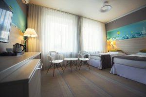 Komfortowe pokoje hotelu w centrum Białegostoku
