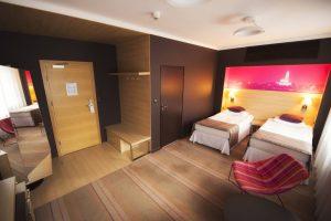 pokój sypialny hotel Białystok