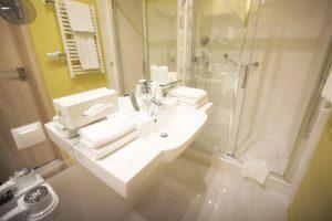 nowoczesna łazienka hotel Białystok