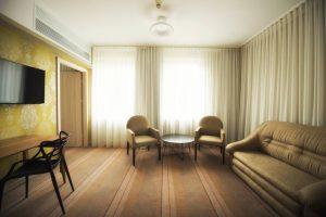 pokój dzienny hotel Białystok