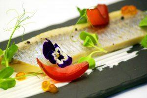 Śledź podany w Restauracji w Białymstoku